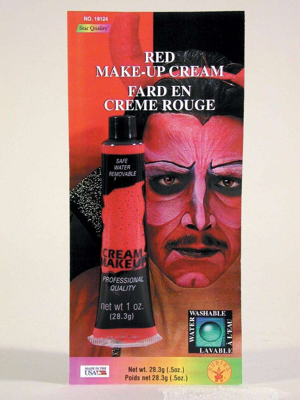 Rubie's Costume Cream Make-Up - Red, 30ml