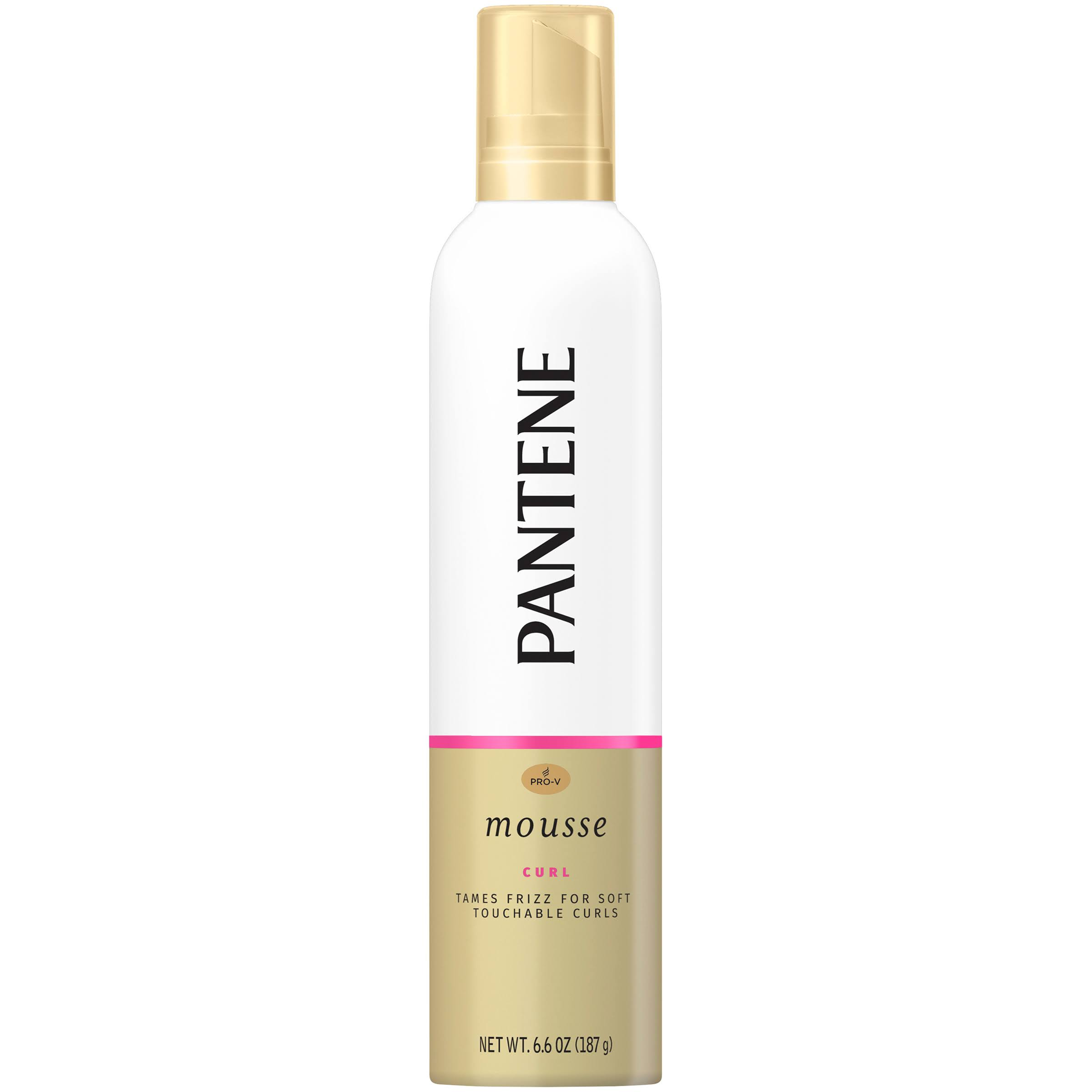 Pantene Pro V Curly Hair Style Curl Defining Hair Mousse - 6.6oz