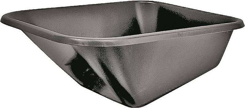 Mintcraft Steel Wheelbarrow Tray - Green, 6 Cubic Feet