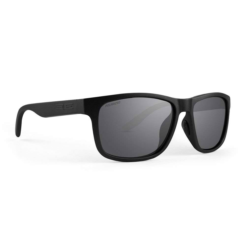 Epoch Eyewear Delta 2 Full Black Frame Sunglasses, Size: One size, Gray