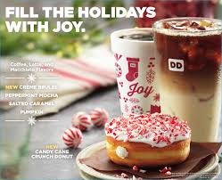 Dunkin Donuts Pumpkin Donut Ingredients by Kcmetromoms Com Happier Holidays With Dunkin U0027 Donuts New Lineup