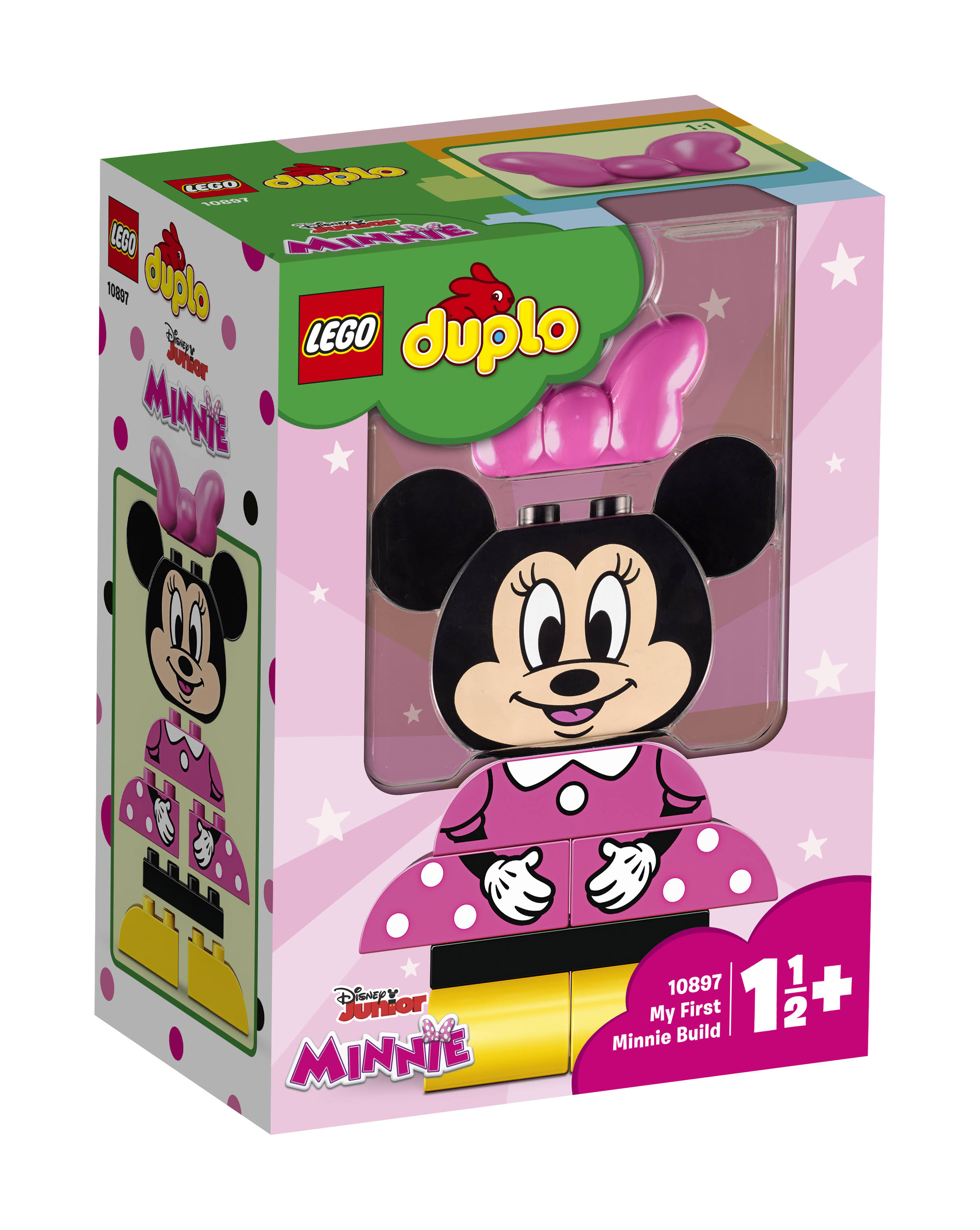 Lego 10897 Duplo My First Minnie Build Building Set