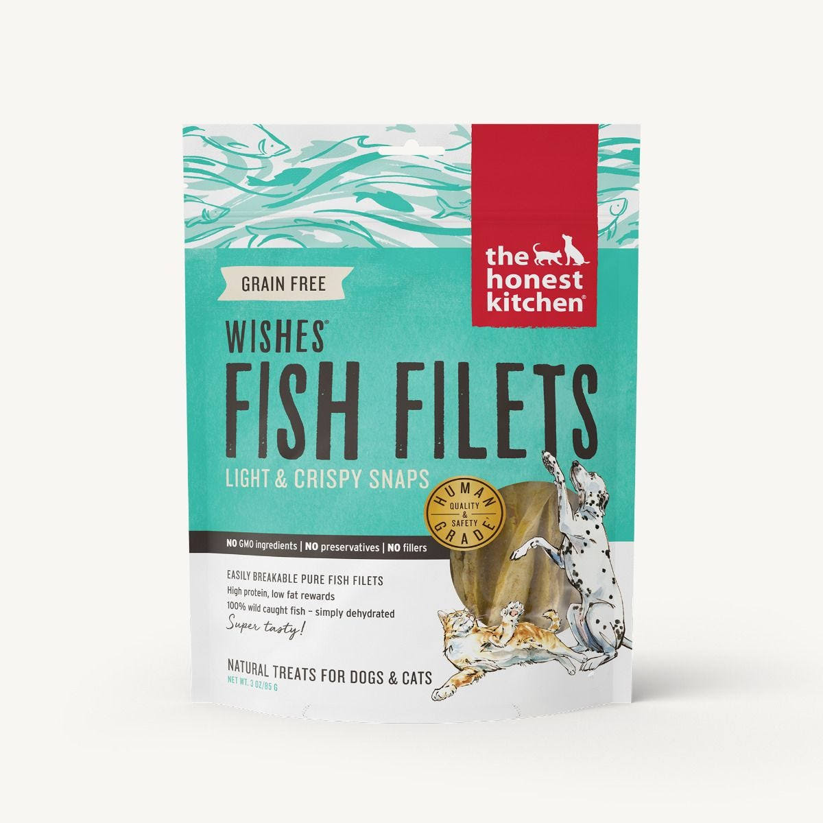 The Honest Kitchen Wishes Fish Filets Dog & Cat Treats