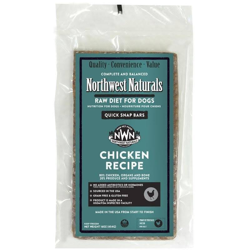 Northwest Naturals Chicken Dinner Bars 1 lb.