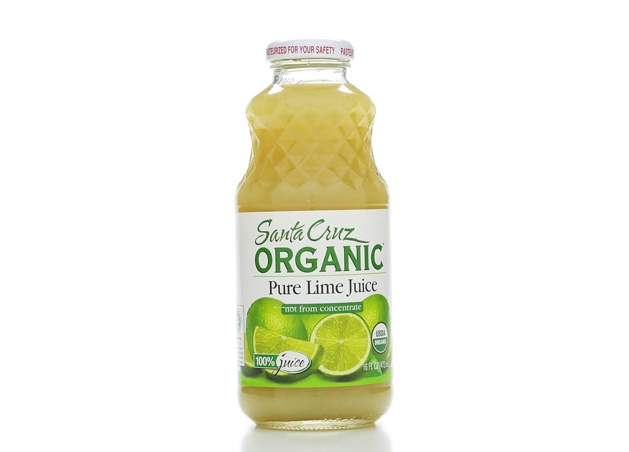 Santa Cruz Organic Pure Lime Juice - 473ml
