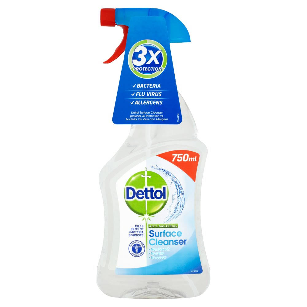 Dettol Antibacterial Surface Cleaning Spray - 750ml