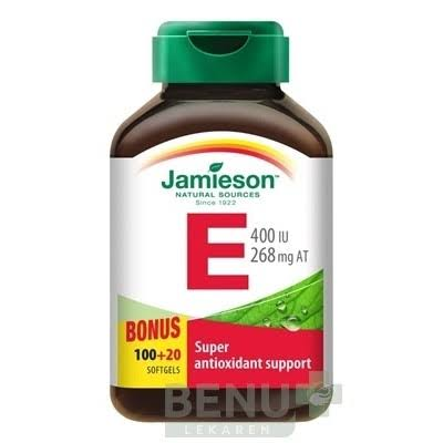 Jamieson Vitamin E Super Antioxidant Support - 120ct