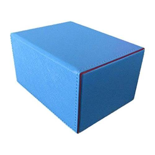 Dex Protection Creation Line Deck Box - Medium Blue
