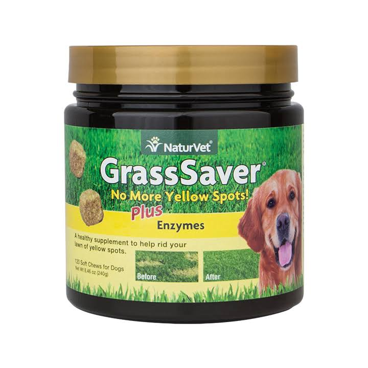 Naturvet Grass Saver Soft Chews - 120 Chews