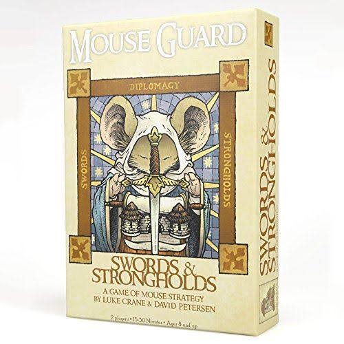 Mouse Guard Swords Strongholds Game