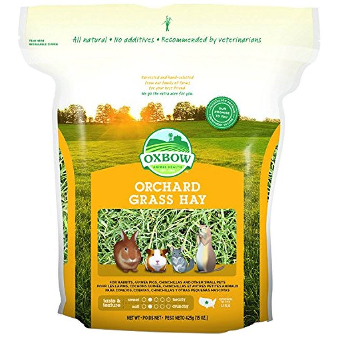 Oxbow Animal Health Orchard Grass Hay for Pets - 15oz