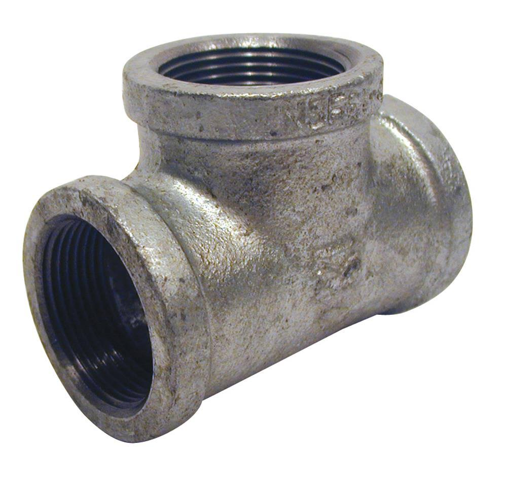 Malleable Galvanized Iron Tee - 1/2""