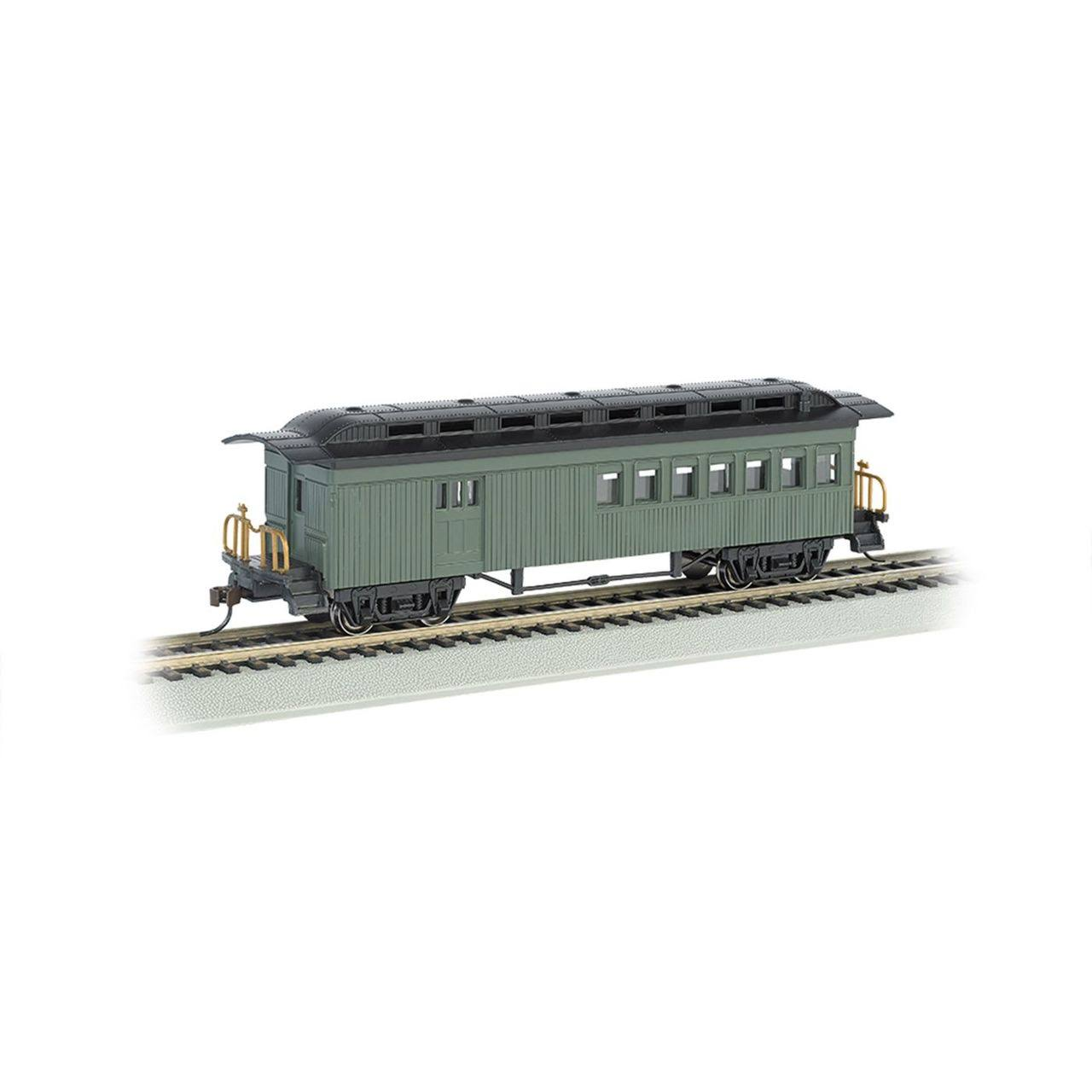 Bachmann 1860-1880 Combine Painted/Unlettered Green HO 13505