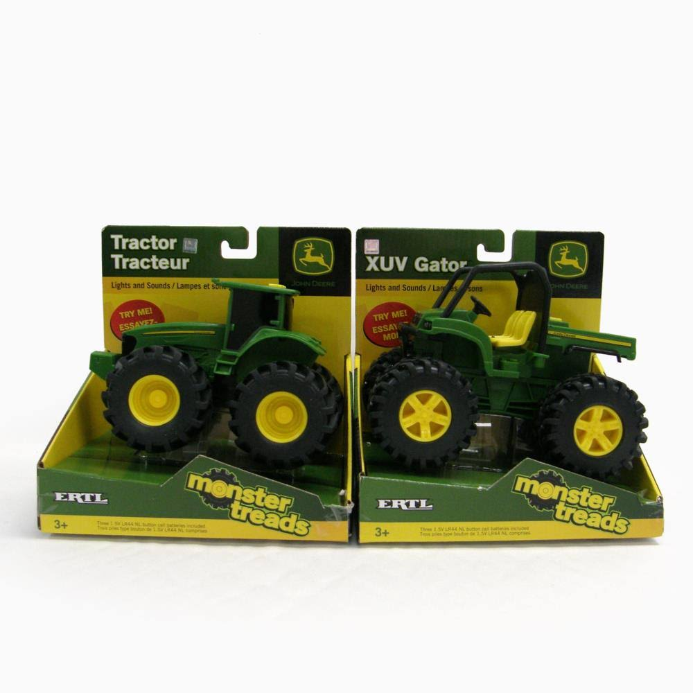 Tomy Ertl John Deere Monster Treads Lights and Sounds - Gator
