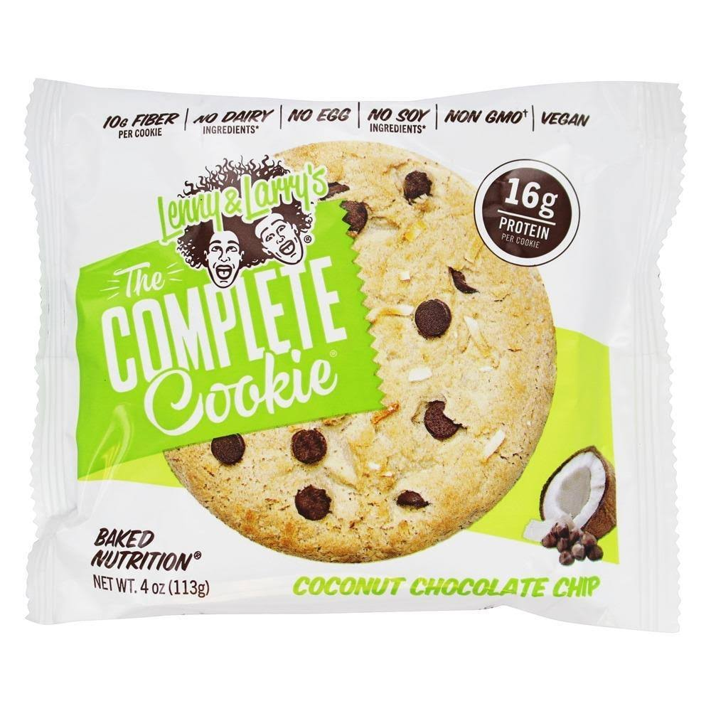 Lenny & Larrys Complete Cookies, Coconut Chocolate Chip - 4 oz cookie