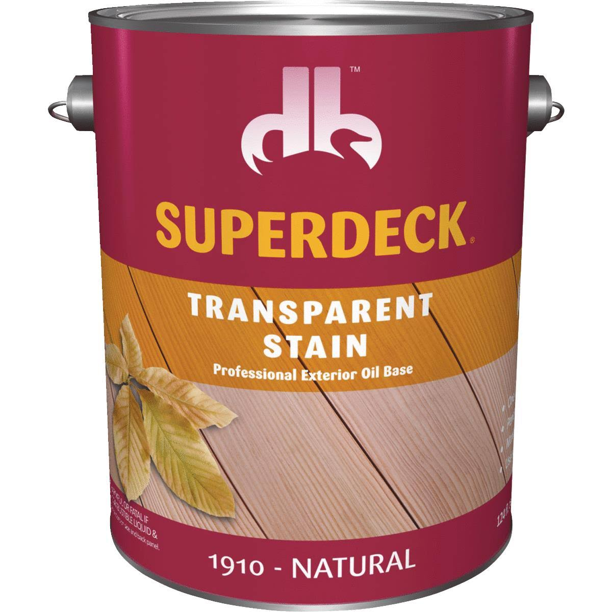 Duckback Products Superdeck Transparent Stain - 1910 Natural