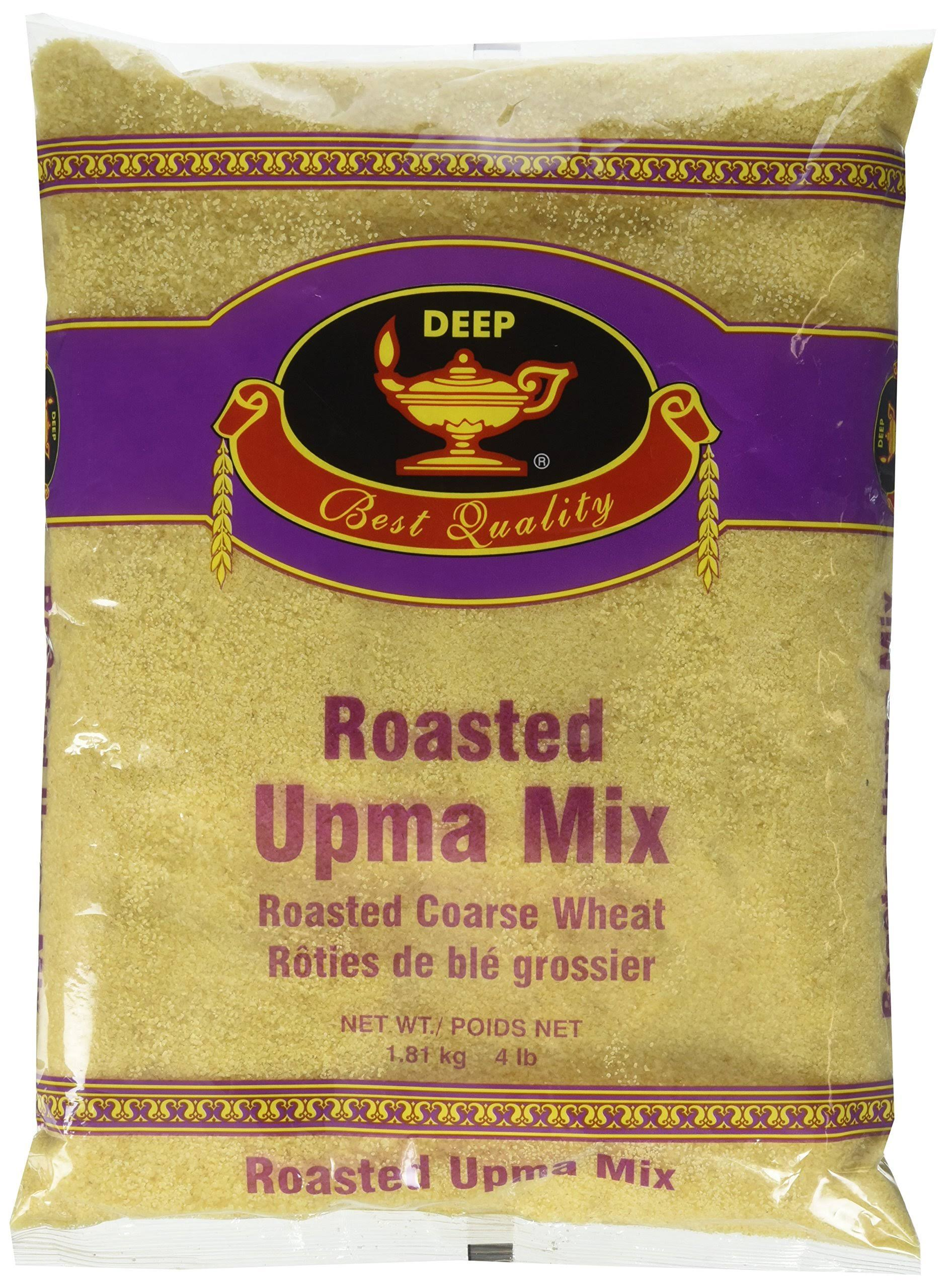 Deep Roasted Upma Mix (4 lb, 1.814 kg)