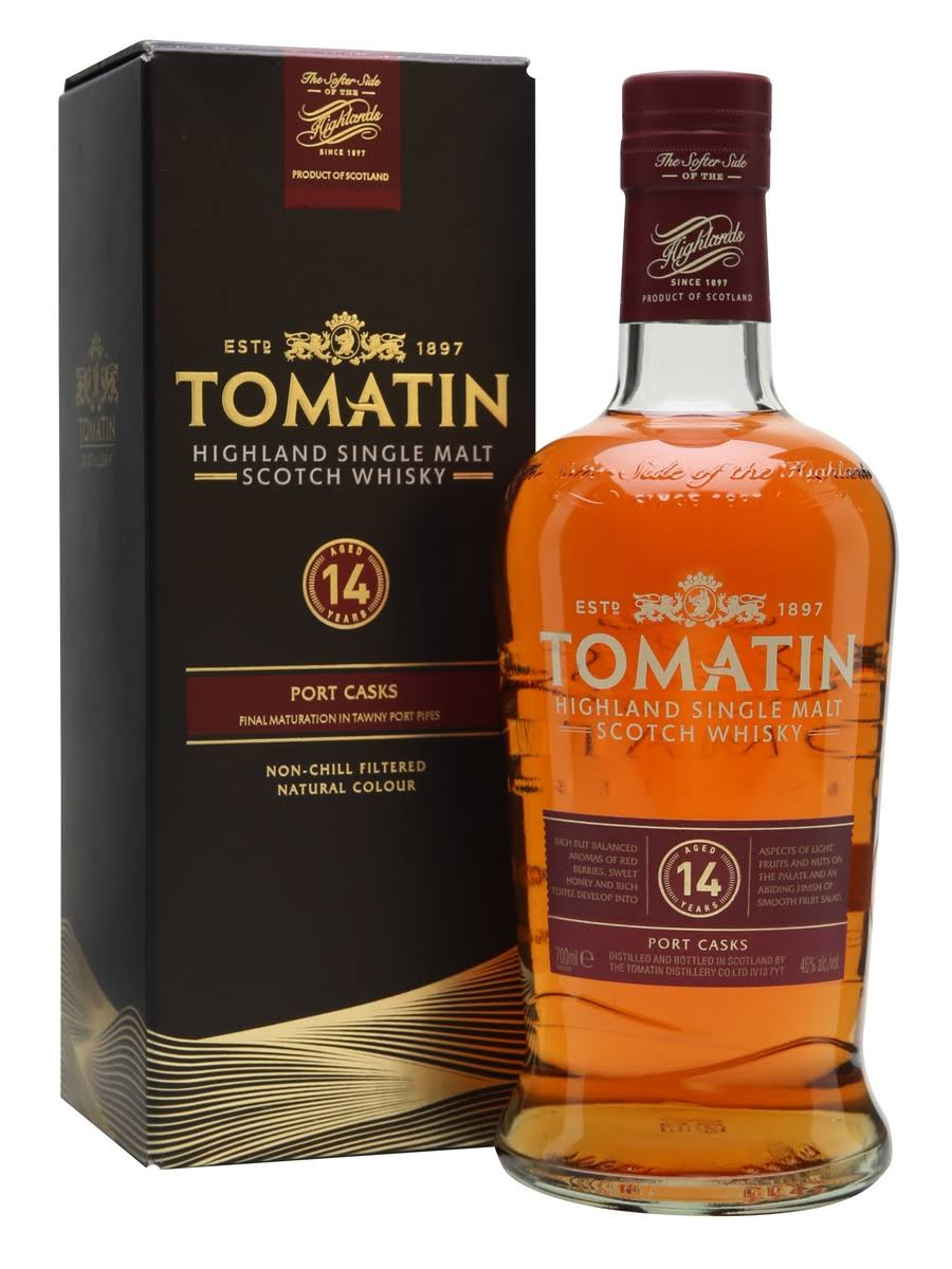 Tomatin 14 Year Distillery Scotch - 750 ml bottle