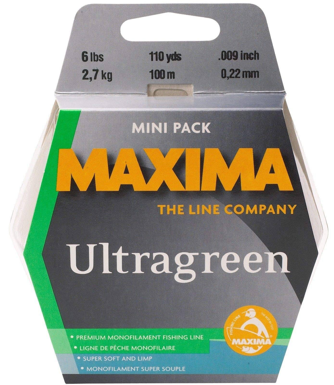 Maxima Ultragreen Mini Pack 4lb 110yds