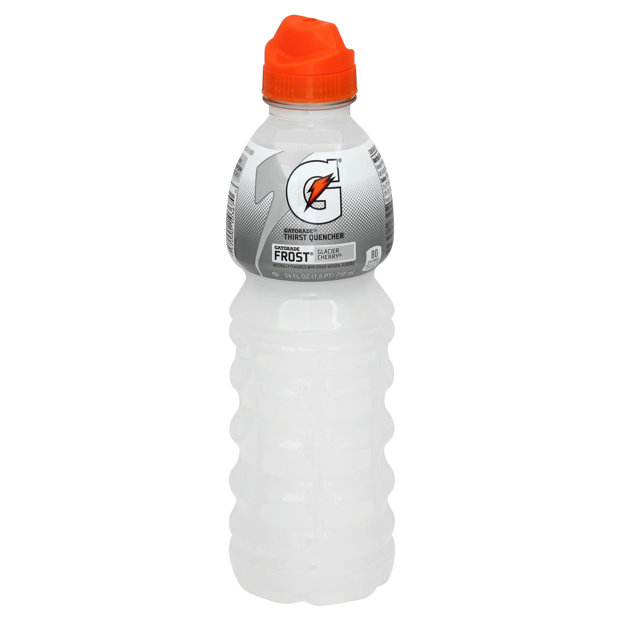 Gatorade Frost Glacier Cherry Thirst Quencher 24 Fld Oz Plastic Bottle