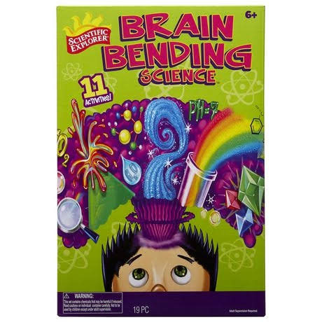 Scientific Explorer Brain Bending Science Kit