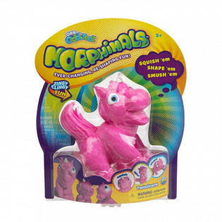 Orb Morphimals Pink Twisticorn - Ultra-Sized Squeeze Toy | Orb | Action & Toy Figures | Best Price Guarantee | 30 Day Money Back Guarantee