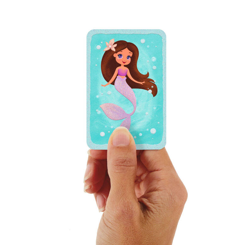 "3.25"" Mini You're Mermazing Thinking of You Card"