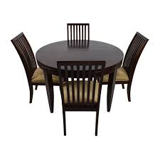 Macys Dining Room Furniture Collection by 75 Off Macy U0027s Macy U0027s Bradford Extendable Dining Table With 4