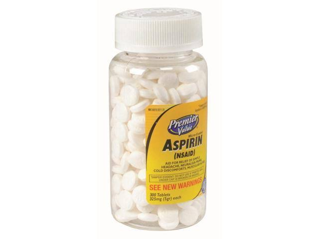 Premier Value Aspirin Coated 325mg - 300ct