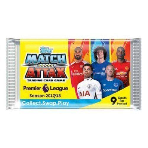 Topps Match Attax Trading Card Game - 9 Cards