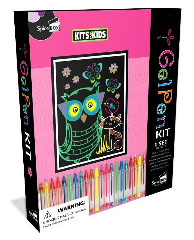 Spicebox Kits for Kids - Gel Pen Kit
