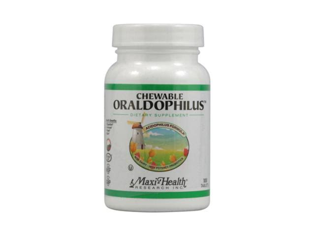 Maxi Health Research Oraldophilus Chewable Tablets - 100ct