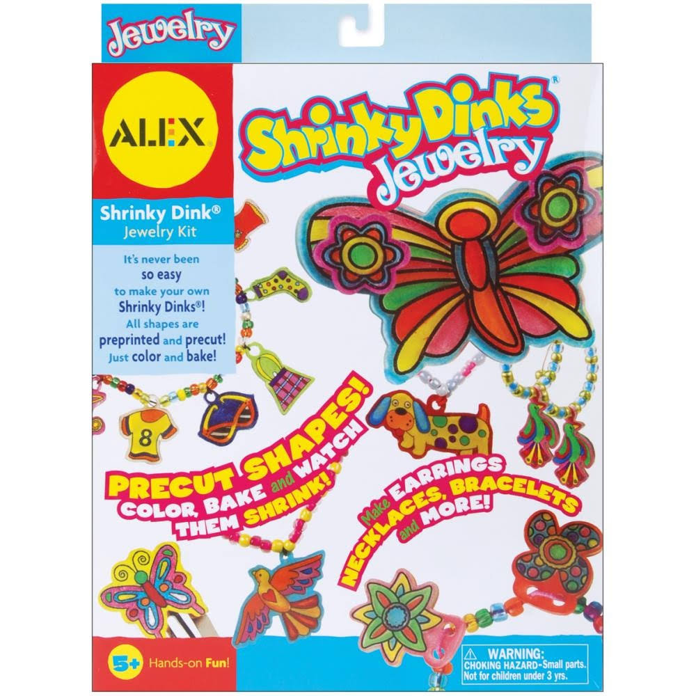 Alex Toys Shrinky Dinks Kit Jewelry Craft Set