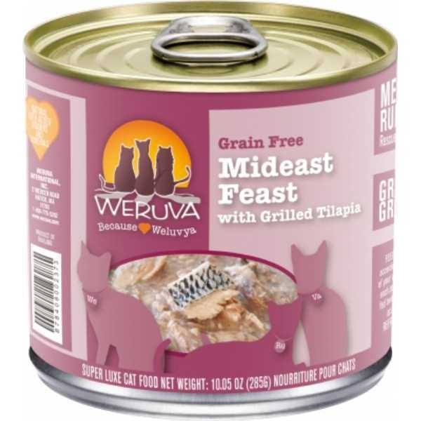 Weruva Cat Food - Mideast Feast With Grilled Tilapia In Gravy