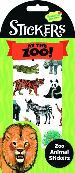 Peaceable Kingdom Stickers at the Zoo - 32ct