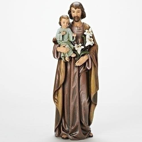 "Roman Inc. 18"" St. Joseph Figure with Baby Jesus"