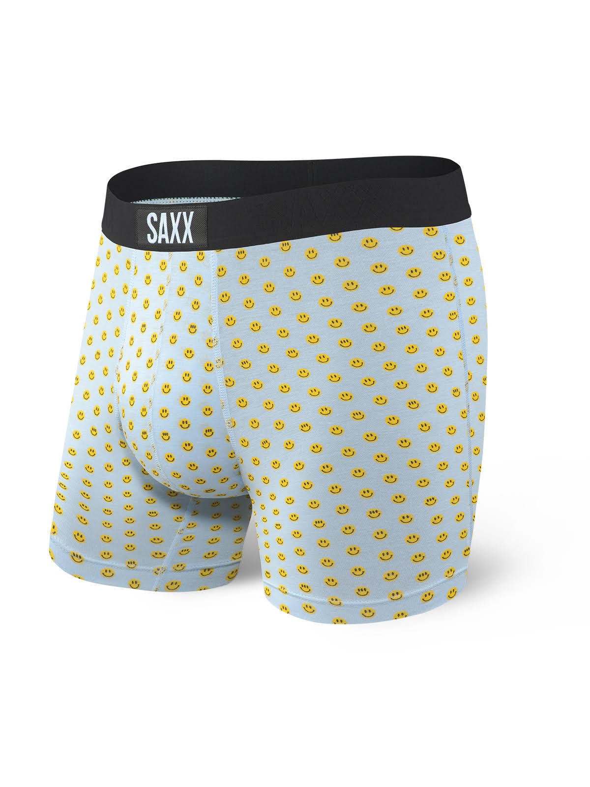 Saxx Men's Vibe Boxer Briefs Blue XXL