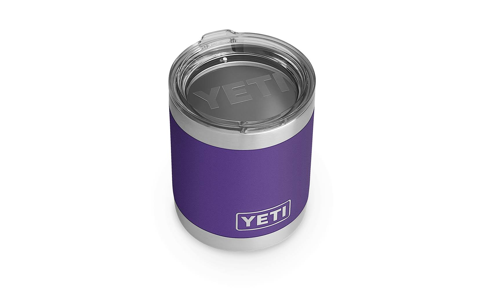 Yeti Rambler Lowball Cup - Peak Purple, 10oz