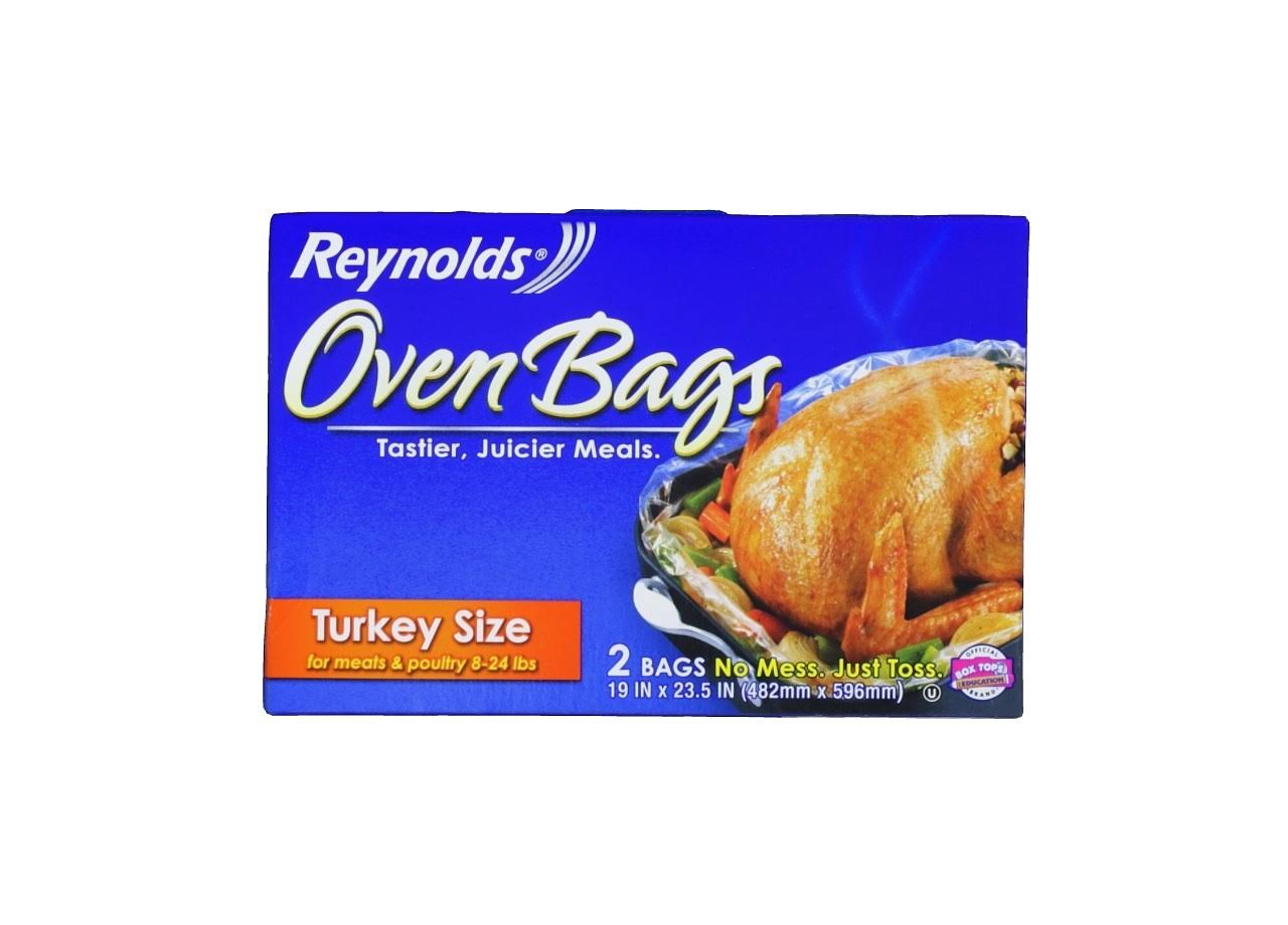 Reynolds Oven Bags - 482mm x 596mm, 2 Bags