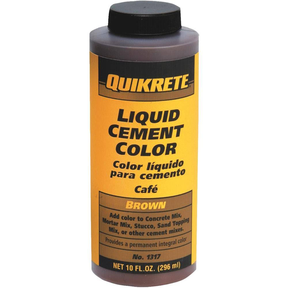 Quikrete 1317-01 Liquid Cement Color - Brown, 10oz