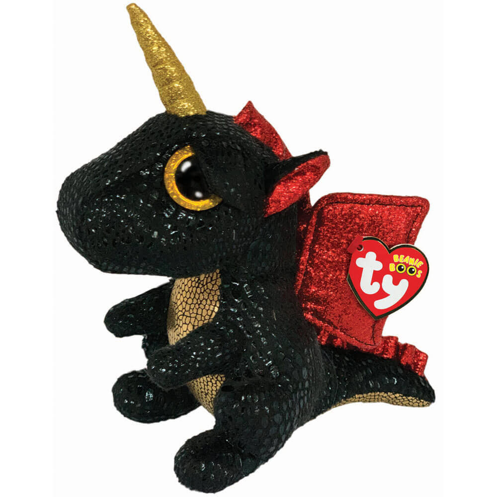 Ty Beanie Boos Grindal - Dragon with Horn Medium
