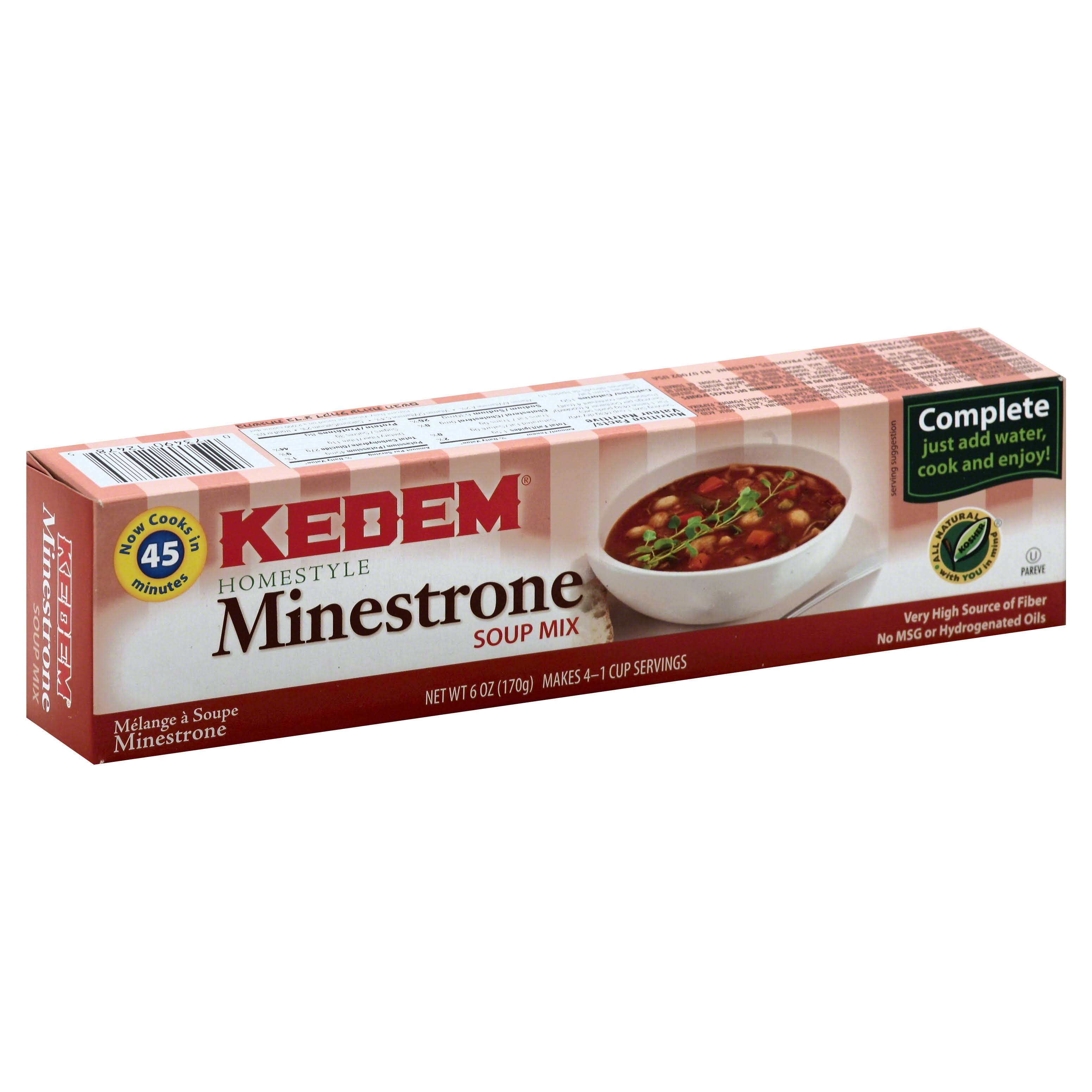 Kedem Minestrone Soup Mix - 6oz