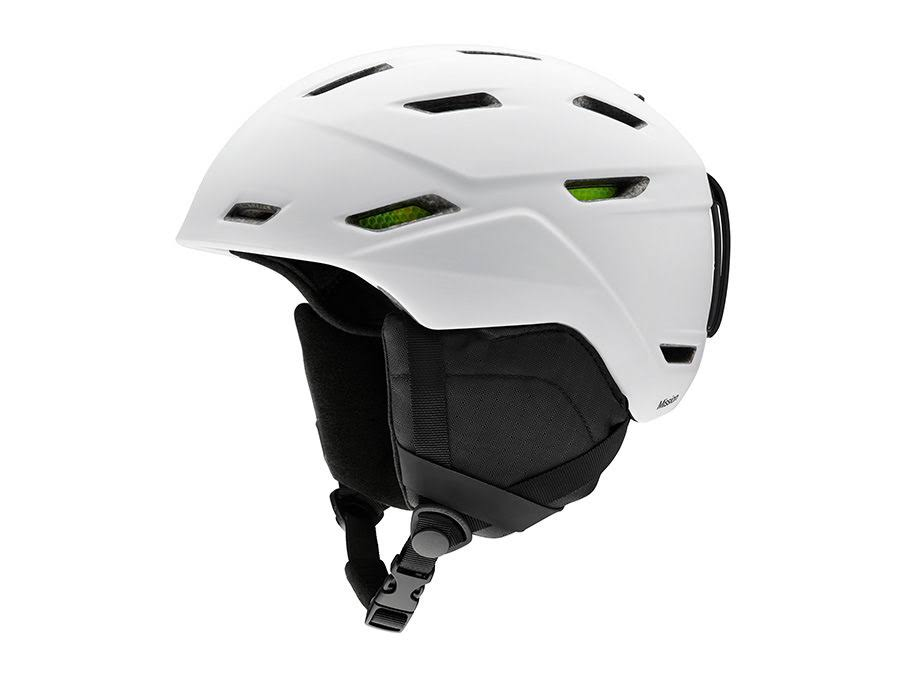 Smith Mission Helmet - Matte White, L