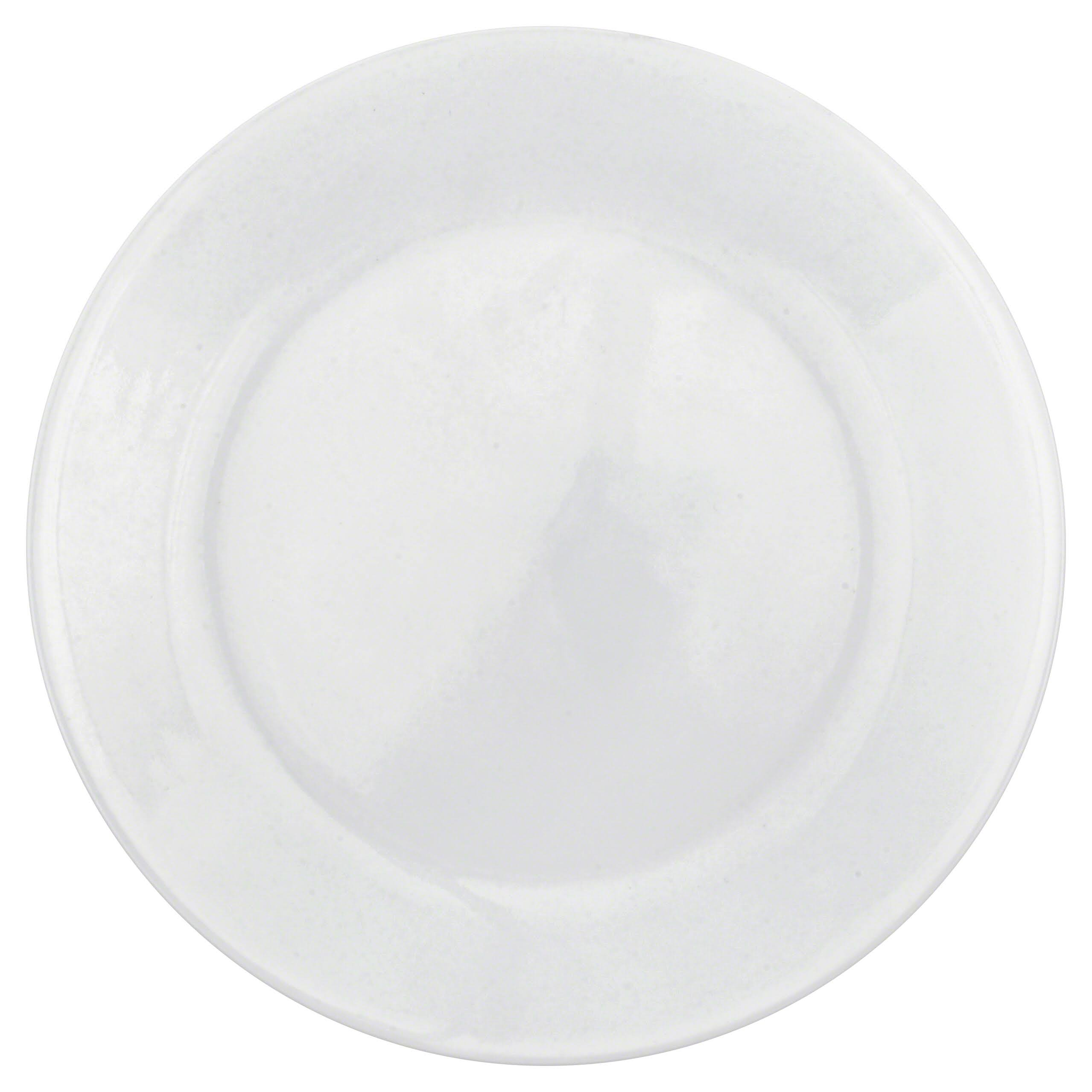 Corelle 6003893 Dinner Plate - Winter Frost White, 10.25""