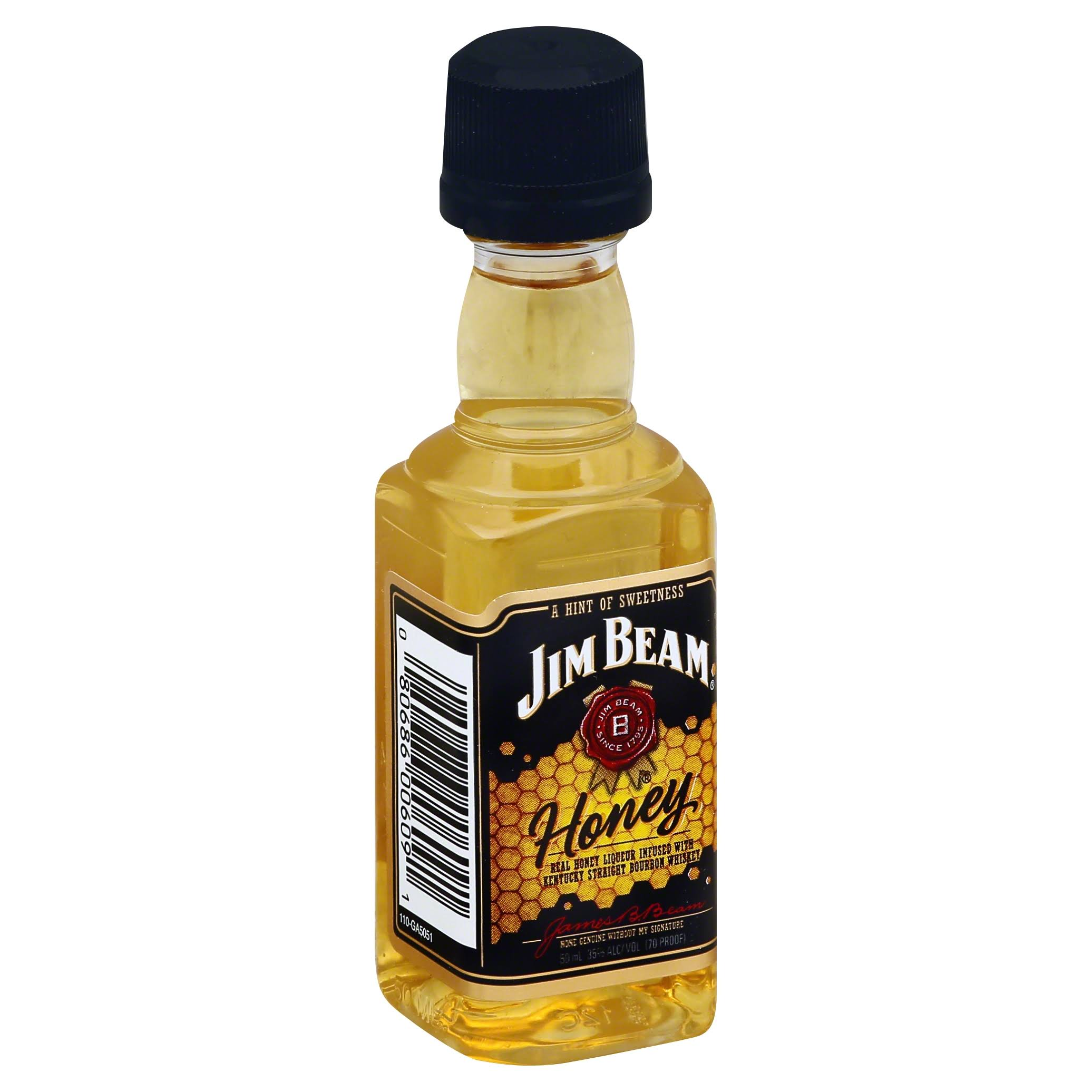 Jim Beam Honey Bourbon Whiskey - 50ml