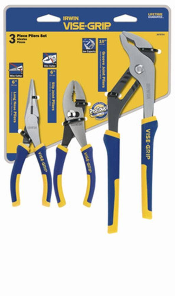 Irwin 2078704 Vise Grip ProPlier Set, 3-Piece
