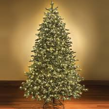 Vickerman Flocked Slim Christmas Tree by Artificial Christmas Trees 4 5 Feet Tall Most Realistic 4 5