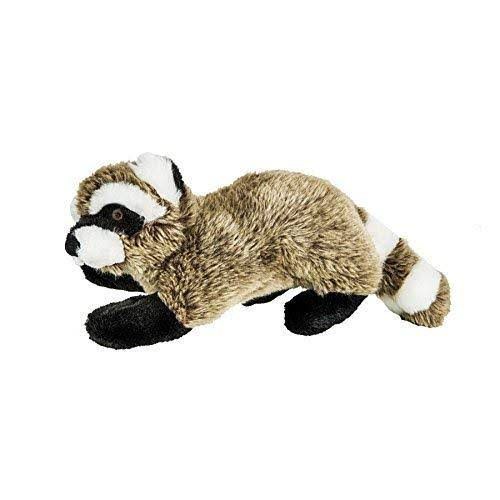 Fluff And Tuff Rocky Raccoon Durable Dog Toy