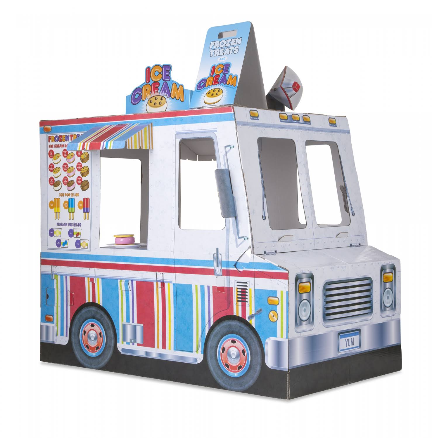 Melissa & Doug - Food Truck Indoor Playhouse