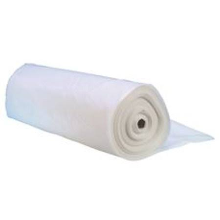 Thermwell Plastic Sheet - Clear, 10' x 25'